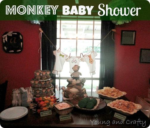 Monkey Baby Shower 4