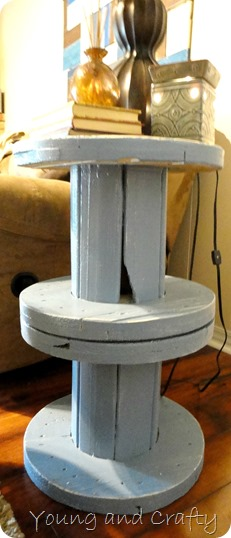 Electrical Spool End Table 3