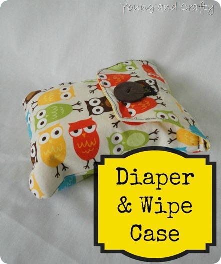 Diaper & Wipe Case