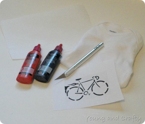 Bicycle Onesie